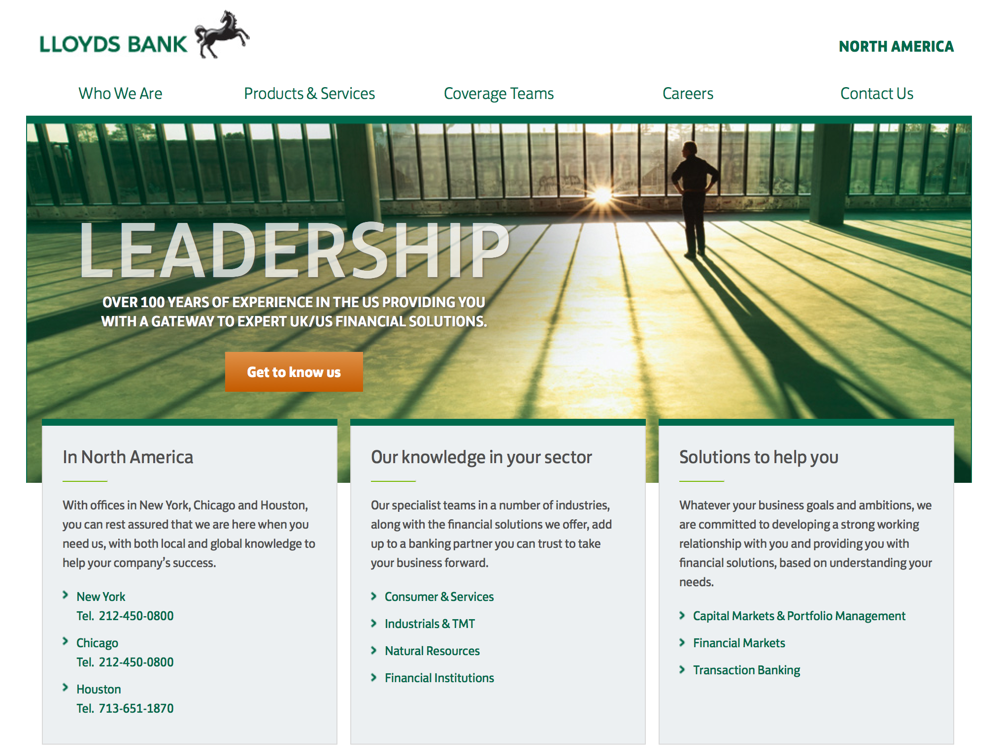 lloyds bank website screenshot